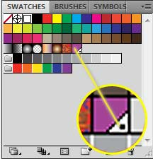 Pantone Matching System PMS Illustrator Swatch Panel