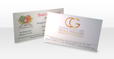 Business Card Printing and Design with Logo