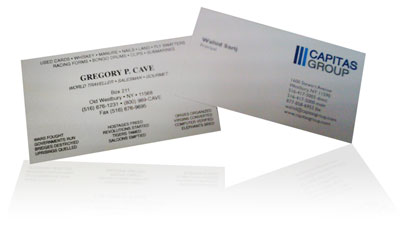 Business Card Design - Simple