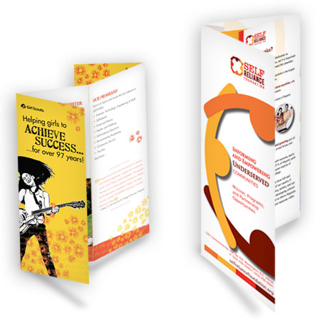 Brochure printing guidelines for a successful design for Successful brochure design