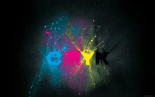 CMYK Splatter
