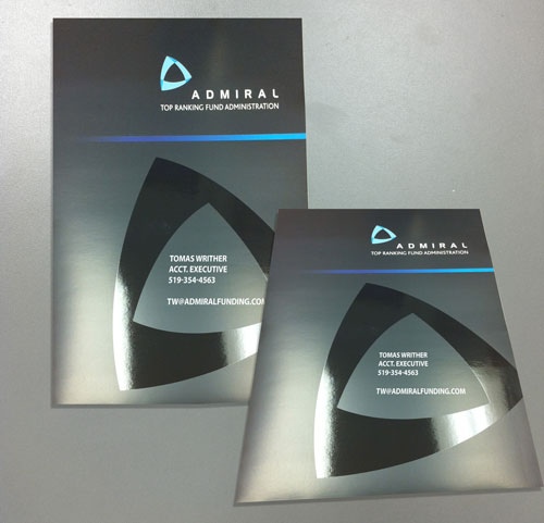 Business Card with Spot UV Coating