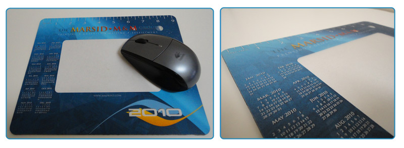 Mousepad Calendar 2011. mouse pad, mouse Both my last