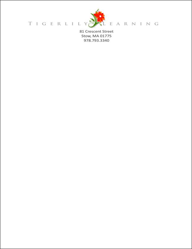 Business Letterhead by Silverspoon102