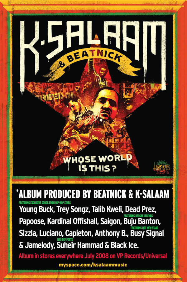 K-Salaam and Beatnick Poster