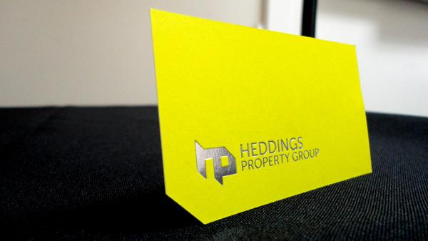 Cut Business Card Custom