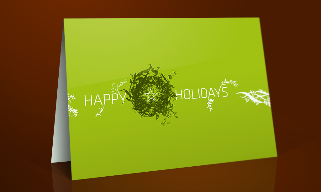 Holiday Greeting Card by Liquisoft