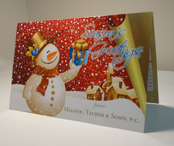 Malone, Tauber & Sohn, PC Holiday Greeting Cards
