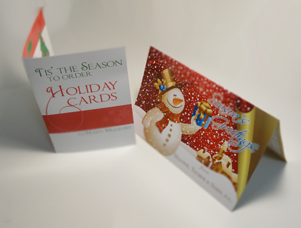 Folded Holiday Cards