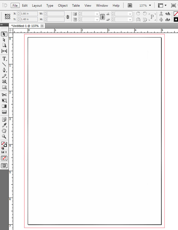 Adobe InDesign Bleeds