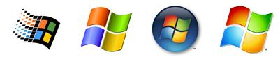 Windows Brand Identity Variations