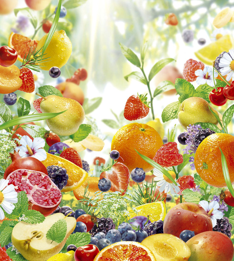 FRUIT RAIN by illugraphy