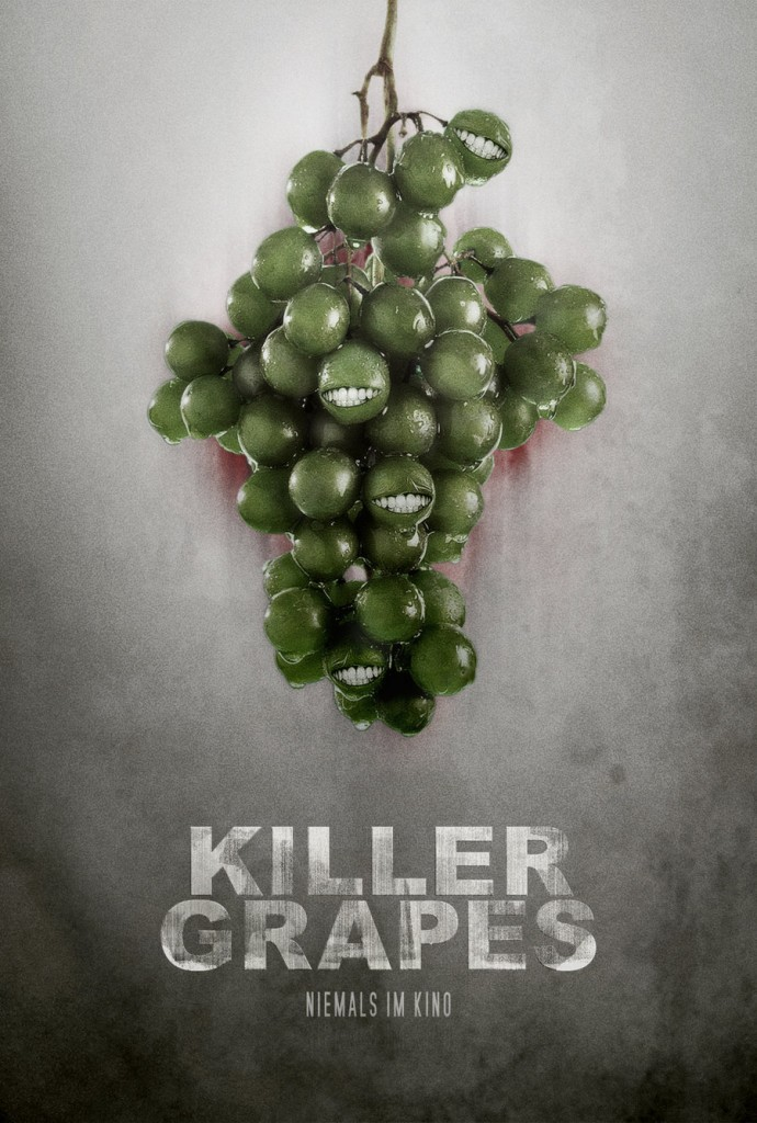 Killer Grapes Poster by GraphZ