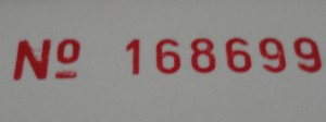 NCR Form Numbering