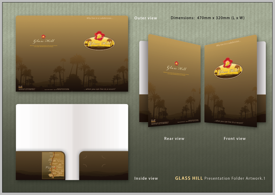 Glass Hill Presentation Folder
