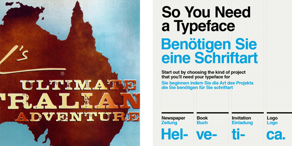 Helvetica is a very popular Sans-Serif Font