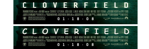 Cloverfield Poster with Comic Sans