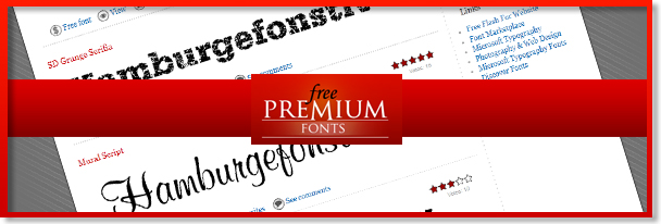 Free Premium Fonts Free Commercial-use Fonts