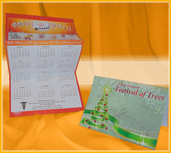 Calendar and Invitation Greeting Cards