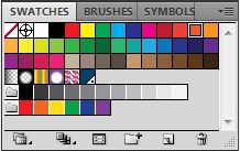 Adobe Illustrator Swatches Panel