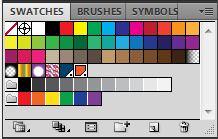 Adobe Illustrator Swatches Panel PMS