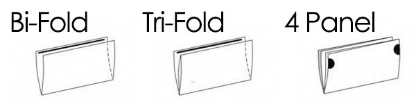 Folded Self Mailer Folding Options