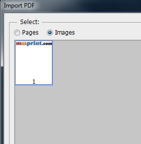 Import PDF Options in Photoshop