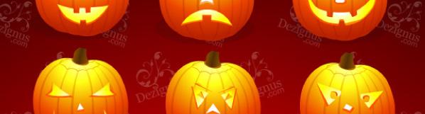 Mix and Match Pumpkin Faces
