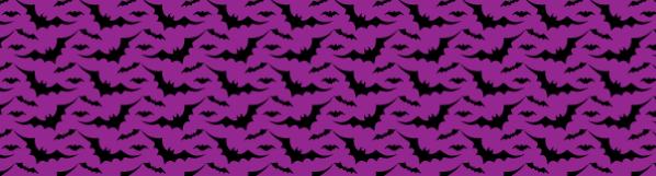 Free Vector Halloween Bat Pattern