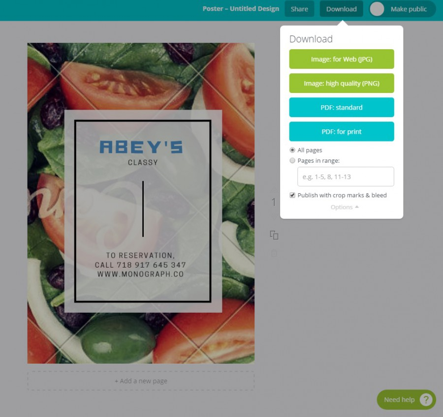 canva | graphic design tool for those who don't have photoshop