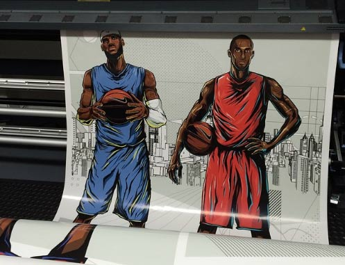 paper posters basketball players | mmprint.com