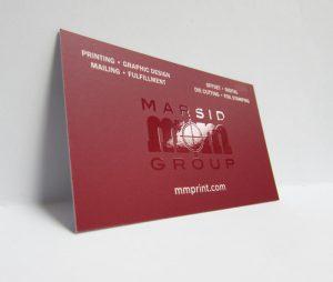 Spot UV Business Card | mmprint.com