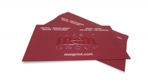 Thermography Business Cards