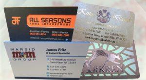 Premium Business Cards | Marsid-M&M Group